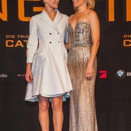 Tribute von Panem - Catching Fire, Die / Filmpremiere / Jennifer Lawrence / Elizabeth Banks Poster