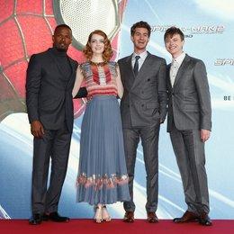 Filmpremiere / Amazing Spider-Man 2: Rise of Electro, The / Jamie Foxx / Emma Stone / Andrew Garfield / Dane DeHaan