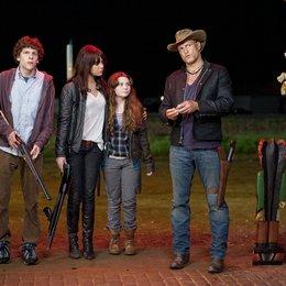 Zombieland / Jesse Eisenberg / Emma Stone / Abigail Breslin / Woody Harrelson Poster