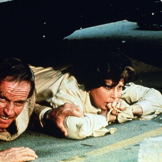 Erdbeben / Ava Gardner / Charlton Heston Poster