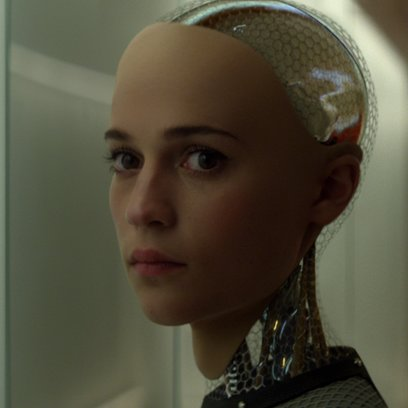 Ex Machina / Alicia Vikander Poster
