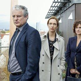 Tatort: Frühstück für immer (MDR) / Filip Peeters / Ursina Lardi / Victoria Trauttmansdorff Poster