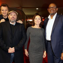 """96 Hours - Taken 3"" feiert Premiere in Berlin / Liam Neeson, Olivier Megaton, Jasna Vavra, Forest Whitaker Poster"