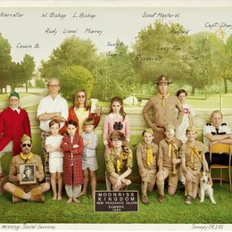 Moonrise Kingdom / Bob Balaban / Bill Murray / Frances McDormand / Kara Hayward / Edward Norton / Bruce Willis / Jason Schwartzman / Jared Gilman Poster