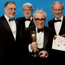 79. Academy Award 2007 / Oscarverleihung 2007 / Francis Ford Coppola / George Lucas / Martin Scorsese / Steven Spielberg