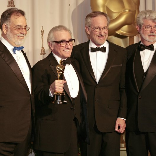 Coppola, Francis Ford / Scorsese, Martin / Spielberg, Steven / Lucas, George / 79. Academy Award 2007 / Oscarverleihung 2007 / Oscar 2007
