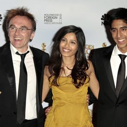 Boyle, Danny / Pinto, Freida / Patel, Dev / 66th Golden Globe Awards 2009, Los Angeles Poster