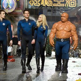 Fantastic Four - Rise of the Silver Surfer / Chris Evans / Ioan Gruffudd / Jessica Alba / Michael Chiklis Poster