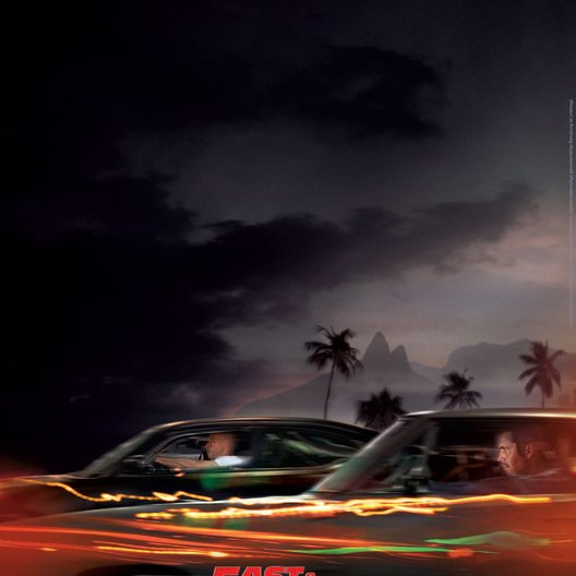 Fast & Furious Five Poster