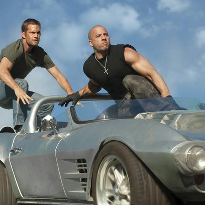 Fast & Furious Five / Fast Five / Paul Walker / Vin Diesel / Fast & Furious - The Collection Poster