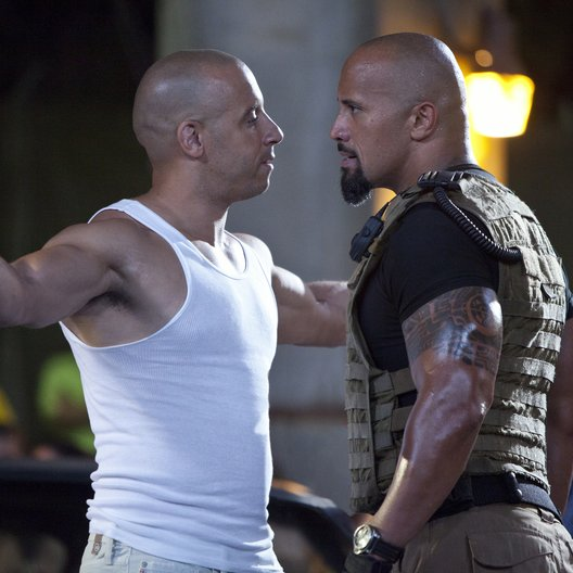 Fast & Furious Five / Fast Five / Vin Diesel / Dwayne Johnson Poster