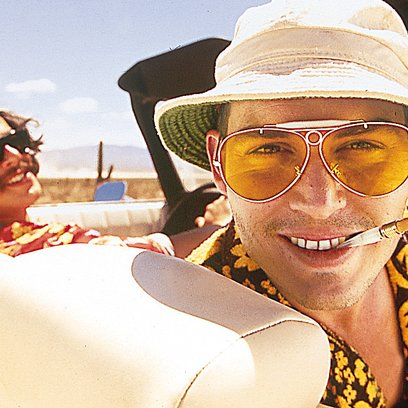 Fear and Loathing in Las Vegas / Johnny Depp / Benicio Del Toro Poster