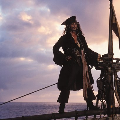 Fluch der Karibik / Johnny Depp / Pirates of the Caribbean - Die Piraten-Quadrologie Poster