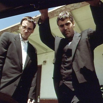 From Dusk Till Dawn / Quentin Tarantino / George Clooney Poster