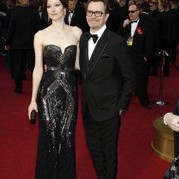 Gary Oldman und Frau Alexandra / 84rd Annual Academy Awards - Oscars / Oscarverleihung 2012 Poster