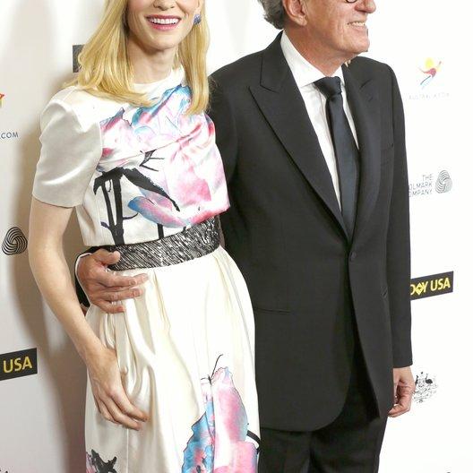 Blanchett, Cate / Rush, Geoffrey / G'Day USA Los Angeles Black Tie Gala Poster