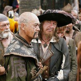 Pirates of the Caribbean - Am Ende der Welt / Geoffrey Rush / Naomie Harris Poster