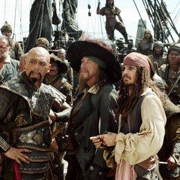 Pirates of the Caribbean - Am Ende der Welt / Geoffrey Rush / Johnny Depp Poster