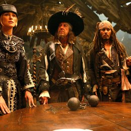 Pirates of the Caribbean - Am Ende der Welt / Keira Knightley / Geoffrey Rush / Johnny Depp Poster