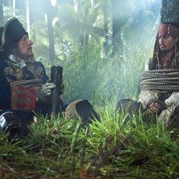 Pirates of the Caribbean - Fremde Gezeiten / Geoffrey Rush / Johnny Depp Poster