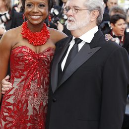 Mellody Hopson / George Lucas / 63. Filmfestival Cannes 2010 Poster