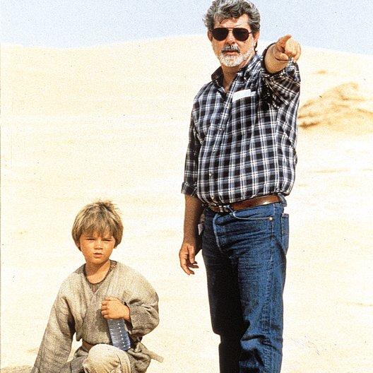 Star Wars: Episode 1 - Die dunkle Bedrohung / Set / George Lucas / Jake Lloyd Poster