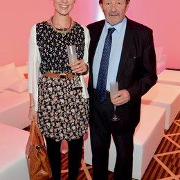 Entertainment Night 2013 / Video Champion 2013 / Laura mit ihrem Vater Gernot Roll