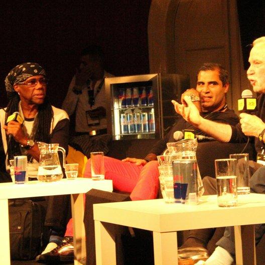 Amsterdam Dance Event 2013 / Nile Rodgers (Chic), Shailendra Singh (Sunburn Festival) und Giorgio Moroder Poster