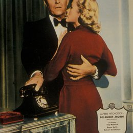 Bei Anruf Mord / Grace Kelly / Alfred Hitchcock Collection Poster