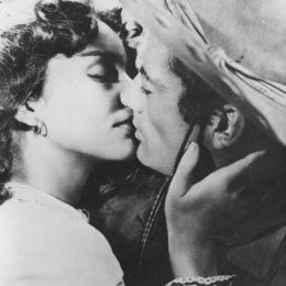 Duell in der Sonne / Jennifer Jones / Gregory Peck Poster