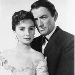 Weites Land / Gregory Peck / Jean Simmons Poster