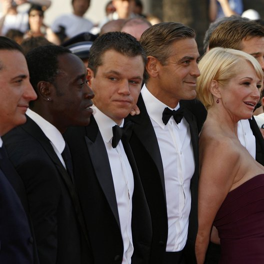 Cheadle, Don / Damon, Matt / Clooney, George / 60. Filmfestival Cannes 2007
