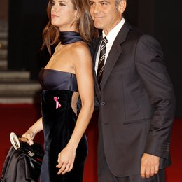 Elisabetta Canalis / George Clooney / 4. Filmfest Rom 2009 Poster