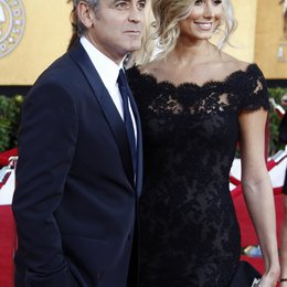 George Clooney / Stacy Keibler / 18th annual Screen Actor Guild Awards / SAG Award 2011 Poster