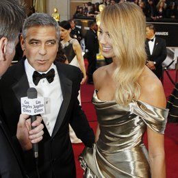 George Clooney / Stacy Keibler / 84rd Annual Academy Awards - Oscars / Oscarverleihung 2012 / Interview