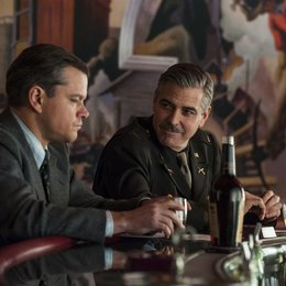 Monuments Men - Ungewöhnliche Helden / Monuments Men / Matt Damon / George Clooney Poster