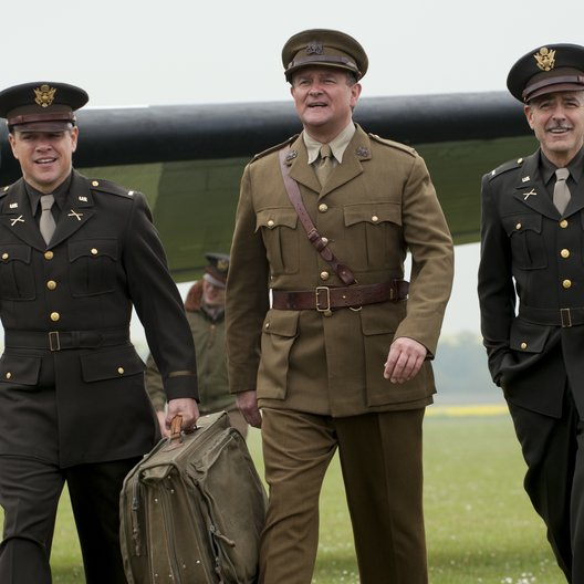 Monuments Men - Ungewöhnliche Helden / Monuments Men / Matt Damon / Bill Murray / George Clooney