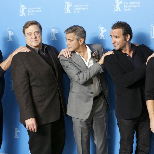 Murray, Bill / Goodman, John / Clooney, George / Dujardin, Jean / Damon, Matt / 64. Berlinale 2014 Poster