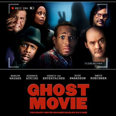 Ghost Movie / Haunted House, A Poster