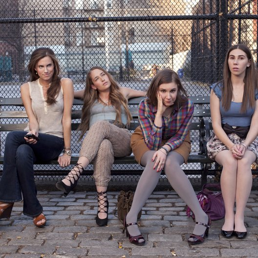 Girls / Girls (1. Staffel, 10 Folgen) / Allison Williams / Lena Dunham / Jemima Kirke / Zosia Mamet Poster