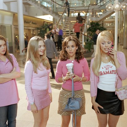 Girls Club - Vorsicht bissig! / Mean Girls / Lindsay Lohan / Rachel McAdams Poster