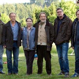 Anton Klima, Matthias Koeberlin, Gudrun Landgrebe und Götz George, Johannes Grieser sowie Michael Gebhart Poster