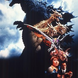 Godzilla, Mothra and King Ghidorah ... Poster