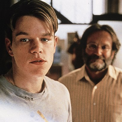Good Will Hunting / Matt Damon / Robin Williams Poster