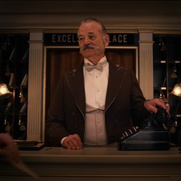 Grand Budapest Hotel / Bill Murray Poster