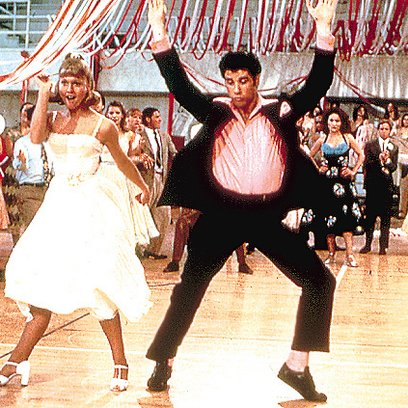 Grease / Olivia Newton-John / John Travolta Poster