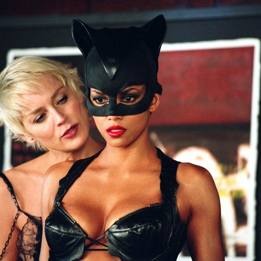 Catwoman / Sharon Stone / Halle Berry Poster