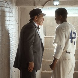 42 - Die wahre Geschichte einer Sportlegende / 42 / Harrison Ford / Chadwick Boseman Poster