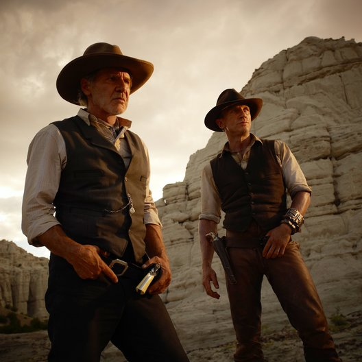 Cowboys & Aliens / Harrison Ford / Daniel Craig