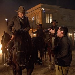 Cowboys & Aliens / Set / Harrison Ford / Jon Favreau Poster